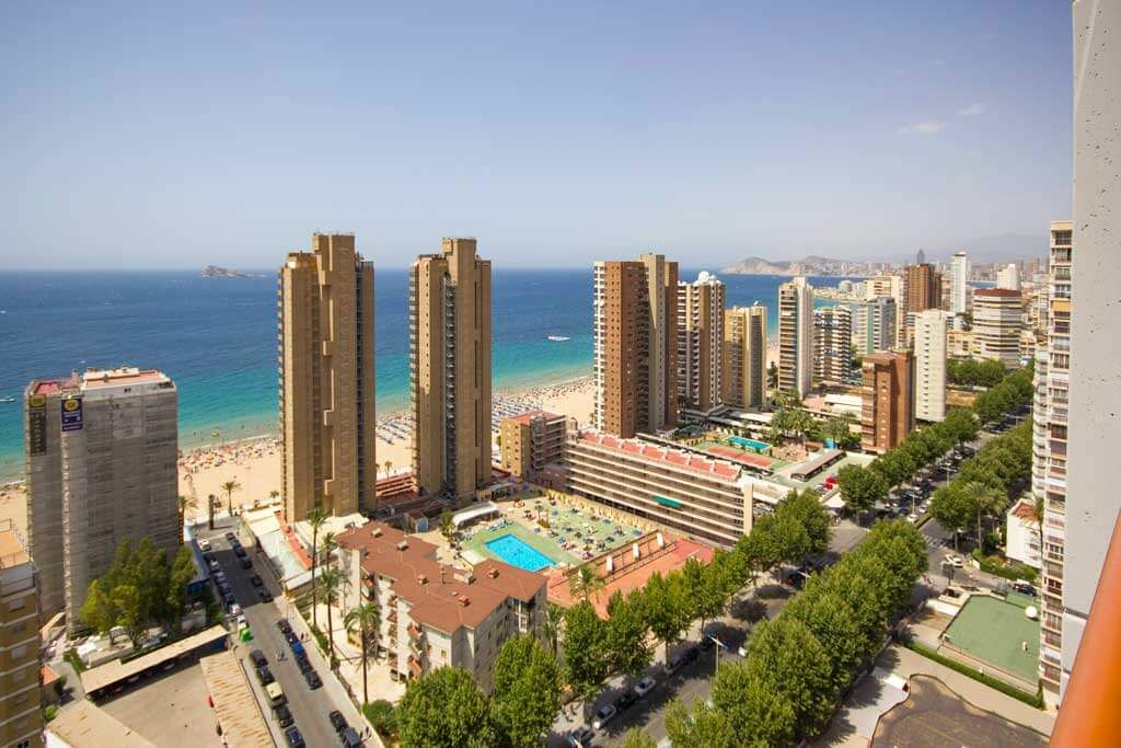 Coblanca 41, an apartment 100m from Benidorm's beach ...