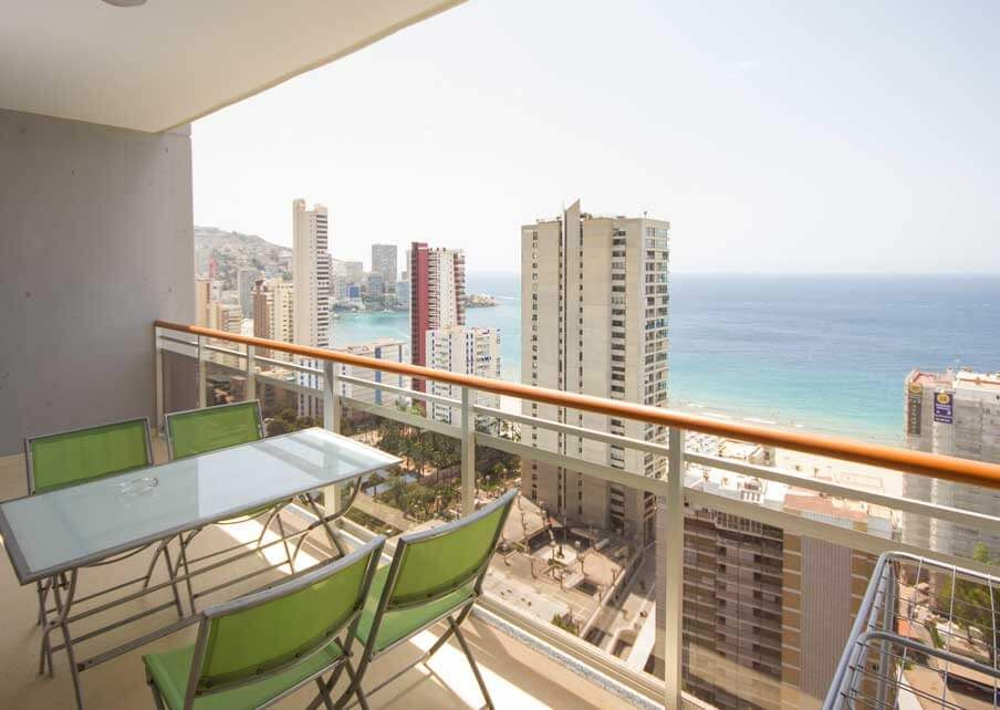 Apartments in Benidorm - Terrace Coblanca 41