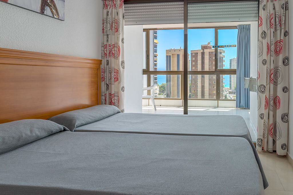 Apartments in Benidorm - Bedroom Gemelos 2