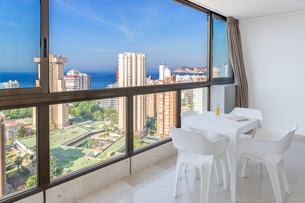 Benidorm apartments - Terrace Gemelos 2