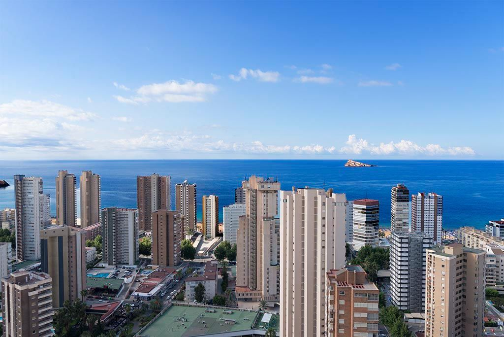 Appartement in Benidorm - Balkon Gemelos Beninter