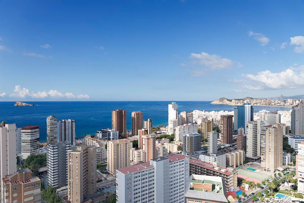 Benidorm holidays - Sea view Gemelos Beninter