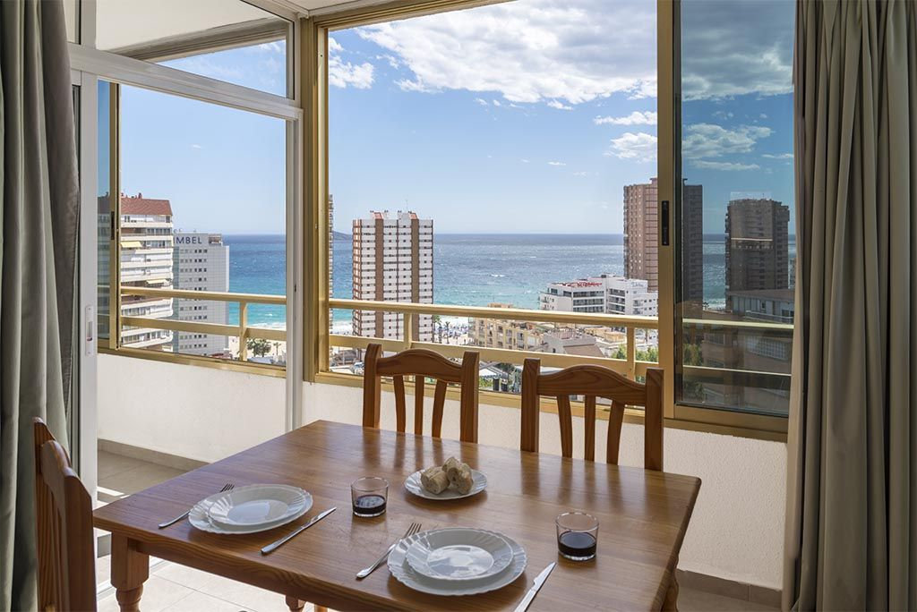 Benidorm apartments - Terrace Mariscal 1