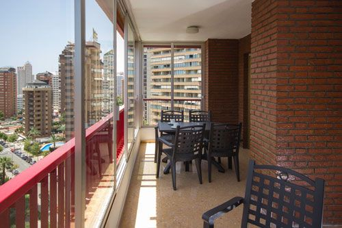Apartments in Benidorm - Terrace Principado Europa