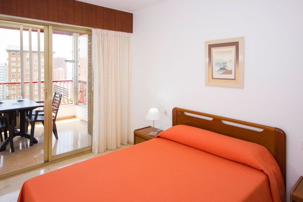 Benidorm apartments - Bedroom Principado Europa