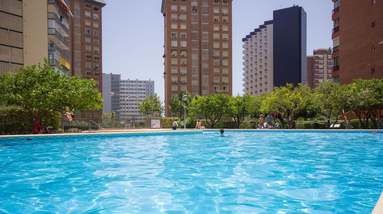 Benidorm apartments - Swimming pool Principado Europa